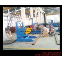 Cheap Height Adjusting Automated Pipe Welding Positioner Turntable For Vessel Loading And Machining for sale