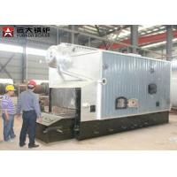 Quality SZL Double Drum Wood Steam Boiler With 0.7MPa - 3.6MPa Pressure ISO9001 wholesale
