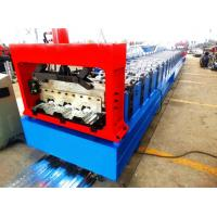 Quality Motorized 0.8MM - 1.2MM Roll Forming Machine Professional With 28 Stations wholesale