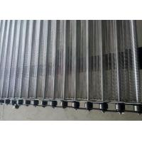 Buy cheap Durable Chain Mesh Conveyor Belt Transport Of Refrigerated Food Custom Support from wholesalers