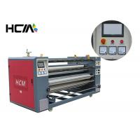 Quality Heat press printing equipment / roller heat press machine for cut - piece roll to roll fabric wholesale