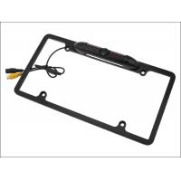 Quality 4.3inch LCD visible Night vision car reversing camera with U.S.A. license plate frame reverse camera wholesale