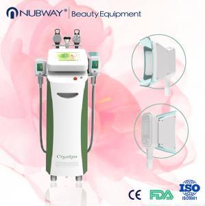 China Newly Hot Selling Ultrasonic Cavitation RF Cryolipolisis Slimming Machine / Vacuum Cryo Fa on sale