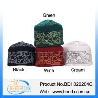 China Hot selling products muslim islamic kufi hats wholesale on sale