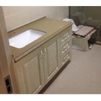 Quality Oak solid wood vanity,Wooden undermount basin vanity,Floor installed bathroom cabinet wholesale
