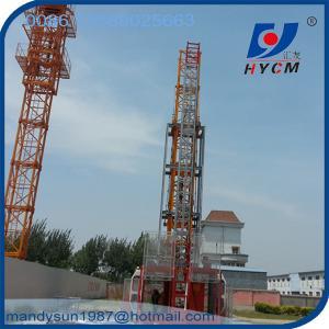 Quality SC200/200 50m high double cages passenger lift wholesale