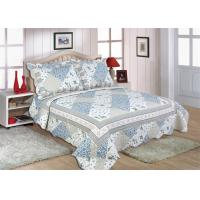 "Quality Disperse Printed Home Bed Quilts Durable With 1"" Distance Quilting Crafts wholesale"