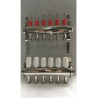 Quality Stainless Steel 304 Floor Hydronic Heating Manifold / Brass Water Manifold wholesale
