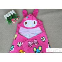 Quality Lightweight Convenient Hooded Poncho Towels Breathable Lovely 60*120cm wholesale