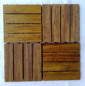Cheap DIY Bamboo Decking Tiles for sale