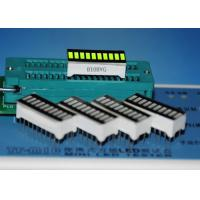 Quality 10 Segment LED Graphic-Bar Array Display Super Green 10 Bar LED Displays for measuring instruments wholesale