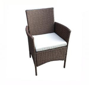 Quality Outdoor 87cm Height 52cm Width Garden Leisure Chairs With Cushion wholesale