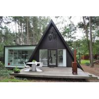 China Prefab House Kits , Modern Light Steel Frame Bungalow,Holiday resort triangle house, mobile house,wooden house on sale