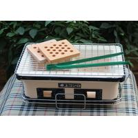 Quality Table Top Japanese Mini Ceramic Grill , Rectangle Outdoor Charcoal BBQ Grill wholesale