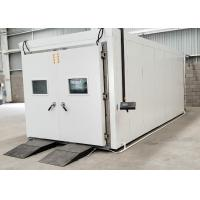 Quality Programmable Constant Temperature Humidity Walk - In Test Chamber Customized wholesale