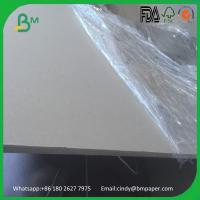 China 500gsm 800gsm 1200gsm 1500gsm grey board double side grey chipboard on sale