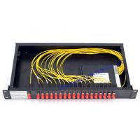 Quality Rack Mount cwdm multiplexer / FC Connector Athermal AWG Module high speed wholesale