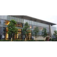Quality 10MM Double Aluminium Glass Curtain Wall Reflective  For Office Building wholesale