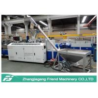 Quality Environmental Protection WPC Board Production Line Conical Twin Screw Extruder wholesale