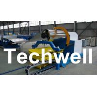 Quality 10 Ton Hydraulic Uncoiler Curving Machine With Coil Car With Coil Width 1500mm wholesale