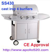 China 4 Burner Gas Barbecue Grill on sale