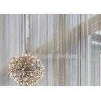 Quality Metal Coil Drapery Screen For Architectural Decoration wholesale
