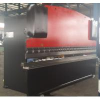 Quality 6mm V Groove CNC Hydraulic Press Brake Machinery for For Bending Steel Plates 160T / 3200mm wholesale
