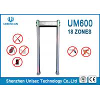 Quality Multiple Size Door Frame Metal Detector , Walk Through Metal Detector For Government Office wholesale