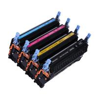 China Replacement for HP Q6470A Q6471A Q6472A Q6473A Colour Toner Cartridges on sale