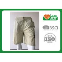 Buy cheap 100% Polyester Waterproof Solid Color Quick Dry Pants For Camping / Running L from wholesalers