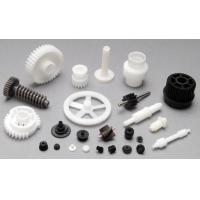 China Plastic Moulding Mechanical Gear Parts In White Or Black Customized Size on sale