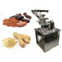 China Small Scale Cocoa Powder Grinding Machine Electric Ginger Powder Making  Machine on sale