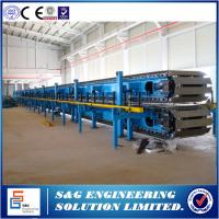 Quality Full Automatic Control PU Sandwich Panel Production Line 5 / 7.5 / 10T Capacity wholesale