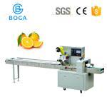 Quality Servo Motor Bakery Packaging Equipment / Orange Fruit Packing Machine 2.4KW wholesale