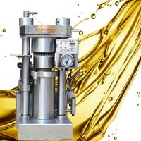 Quality Grape Seed Oil Hydraulic Oil Press Machine 4 Kg / Batch Capacity High Durability wholesale