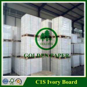 Quality 170gsm 190gsm 210gsm 230gsm 250gsm 270gsm 300gsm 350gsm 400gsm C1S ivory board/FBB/Folding box board wholesale
