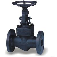 Quality 2 Inch Forged Steel Valves , OS&Y Flanged Solid Wedge Gate Valve wholesale