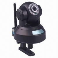 China Pan/Tilt WIFI Camera with Plug-and-play, CMOS sensor, IR-cut Night Vision for iPhone/Android on sale
