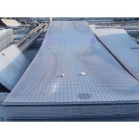Quality Custom cut 914 - 1500mm GB, Q235, Q345, DIN1623 Hot Rolled Checkered Steel Plate / Sheets wholesale