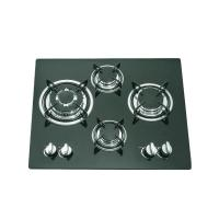 Quality Glass Top 4 Burner Gas Stove Top 590x510mm With Thermocouple Type Safety Device wholesale