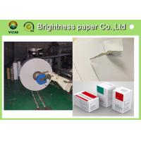 China Coated Duplex Board With White Back , White Paper Board 250gsm 700 * 1000mm on sale