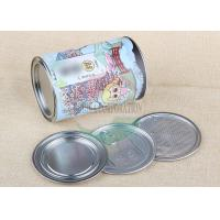 Buy cheap Food Grade Kraft Paper Cans Packaging Aluminum Foil Liners Composite Can Packaging product