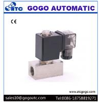 Quality Direct Acting Water Solenoid Valve Normally Closed Stainless Steel 0 - 10 bar Woking Pressure wholesale