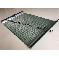 Quality Durable High Penetration Shale Shaker Screen Triple Layer Laminated Wire Mesh wholesale