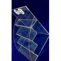 Quality 4 Tiers 3mm Acrylic Stationery Holder Transparent for Umbrella Magazine wholesale