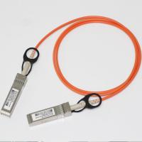 China Fiber QSFP+ 40g Breakout Cable AOC LSZH Jacket 100m Length High Speed on sale