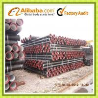 Quality High quality Ductile Iron Pipe ISO2531 & EN545 wholesale