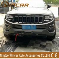 Quality Steel Material 4X4 Off-Road Accessories Front Bumper Bull Bar For Cherokee 2014+ wholesale