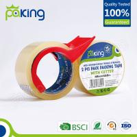 Cheap professional manufacturer bopp self adhesive waterproof tape for box packing for sale