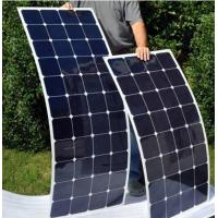Quality 100 Watt Monocrystalline Solar Cell Panel Sunpower Strong Adhesive 2 Years Warranty wholesale
